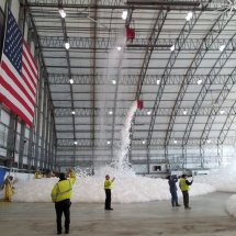 Logan Airport Fire Suppression Test