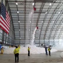 Logan Airport Fire Suppression Test