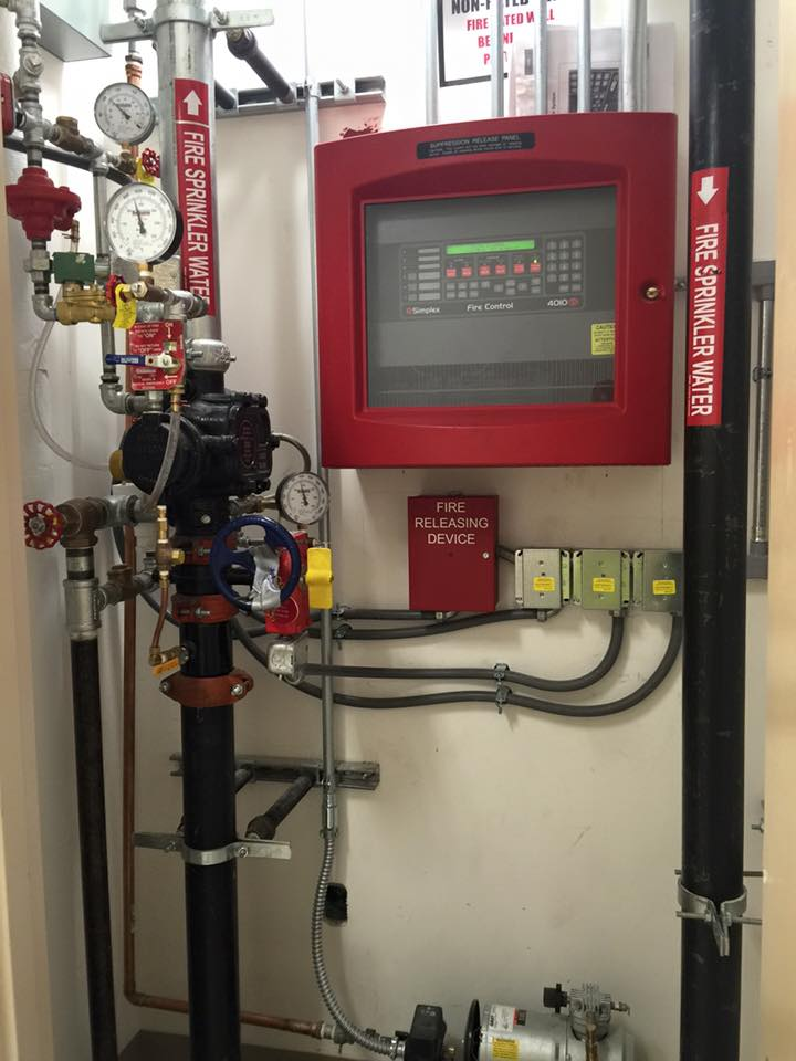 Hospital Fire Suppression Systems Patient Rooms